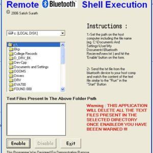پروژه بلوتوث ارسال و دریافت فایل و اس ام اس با زبان ویژاول بیسیک vb6